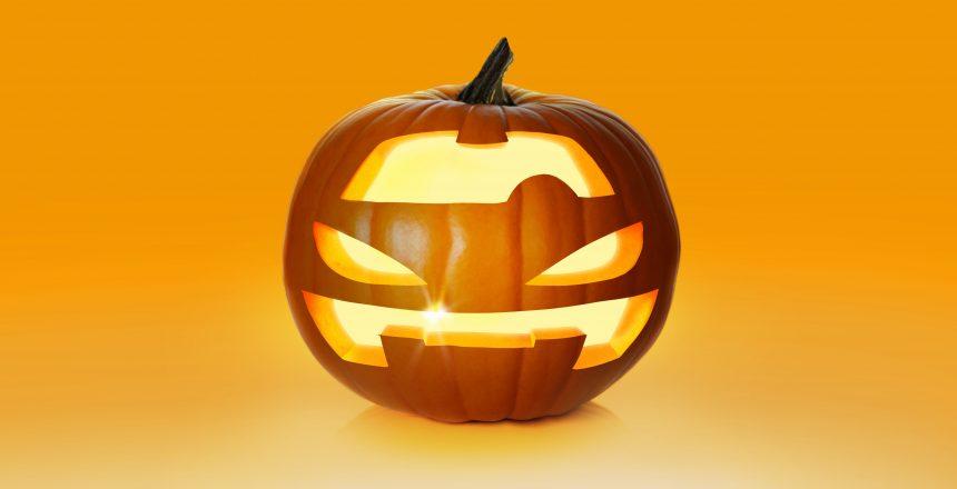 Pumpkin on white background. Fresh and orange; Shutterstock ID 214391017; Purchase Order: -
